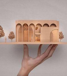 Conceptual Model Architecture, Architecture Model Making, Library Architecture, Architecture Collage, Architecture Drawings, Architecture Portfolio, Concept Architecture, Architecture Design, Facade Game