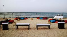 Indian Reception at Sunrise Beach #HalfMoonResort #Jamaica #DestinationWeddings #IndianEvents #CaribbeanEvents