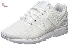 adidas Zx Flux, Sneakers Basses Mixte Adulte, Blanc (Ftwr White/Ftwr White/Core Black), 36 EU - Chaussures adidas (*Partner-Link)