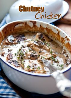 chutney-chicken _ South African recipe