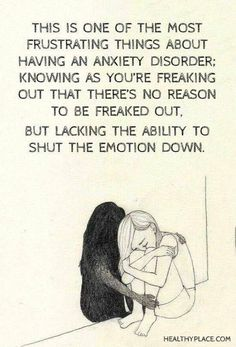 I hate having anxiety. Hate. It.