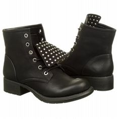 f1d637308e4d51 Circus by Sam Edelman Garon Boot Black Classic Suede Lace Up Boots