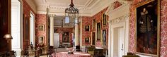 Woburn Abbey and Gardens Eaton Hall, Woburn Abbey, Baroque Design, Red Rooms, Historic Homes, Beautiful Interiors, Architecture, Buzzard, Country Houses