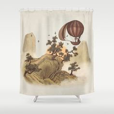 The+Journey++Shower+Curtain+by+Terry+Fan+-+$68.00