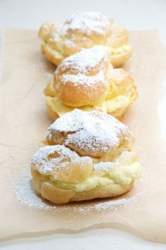 The Best Cream Puffs Recipe // Dula Notes || looks similar to Sister Saunders' recipe