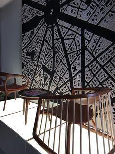 Clerkenwell 2017 - Bernhardt design flooring and chair