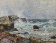 Thorolf Holmboe 1866-1935: Kystlandskap (1929)