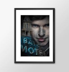 Young Norman Bates from Bates Motel Tv Series - Movie Maniac  - Original Digital Art - PRINTED BUY 2 Get 1 FREE by ShamanAlternative on Etsy