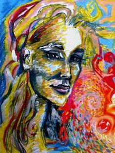 "Saatchi Art Artist Maria Iurskaya; Drawing, ""Drops of life"" #art"