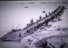 Mulberry Harbour Arrmomanches Normandy 1944 - What to do with just one day in Normandy; the WW2 historian