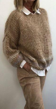 Winter Knitting Patterns, Knitting Designs, Knit Patterns, Cardigan Fashion, Knit Fashion, Fashion Outfits, Sweater Cardigan, Sweater Dresses, Style Fashion