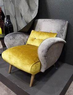 art deco interiors | Art Deco Influence Lounge Chair, Chairs, Designer Furniture Melbourne ...