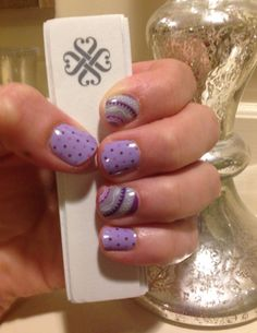 Wisteria and Speckled! Uñas Jamberry, Jamberry Consultant, Polish, Nail Art, Wisteria, Manicures, Purple, Unicorns, Nail Ideas