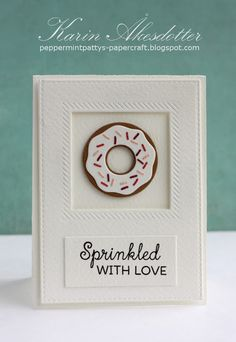 Published Card Saturday - Sprinkled with love!