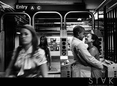 Ashley + Ade's #Engagement Photos in Brooklyn, DUMBO, NY www.getstak.com