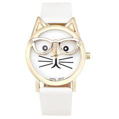 Montre chat lunettes 2016