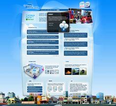 Hotsite da Intel para a Campus Party 2008. Feito em parceira com a McCann Erikson.