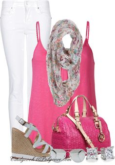 """""""Pretty in Pink"""" by cindycook10 on Polyvore"""
