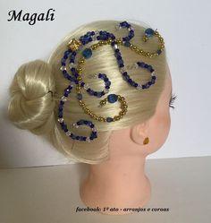 Royal Crowns, Tiaras And Crowns, Headdress, Headpiece, Hair Jewelry, Beaded Jewelry, Diy Tiara, Ballroom Jewelry, Fantasy Hair