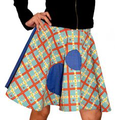 Falda Plato Vaquero 35.00€ Estilo Pin Up, Skirts, Fashion, Templates, Sustainable Fashion, Fabrics, Women, Skirt, Moda