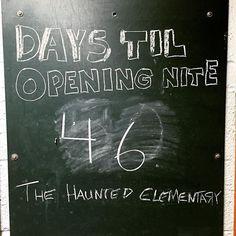 46 more days #HauntedElementary #HauntedHouse #halloween #Saginaw #saginawmi #scary #Michigan