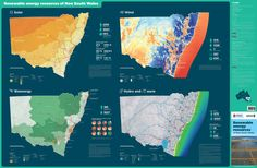 Renewable energy resources map of NSW page 1