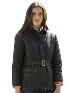Womens motorcycle style Wax Jacket (brown or black). Price £119.99, $199.99 #Vedoneire #Womenswear #Fashion