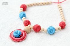Teething Necklace  breastfeeding necklace  teething by MagazinIL, $17.00