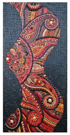 Mosaic Red101x by JulieEdmunds-Mosaic on DeviantArt
