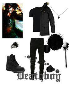 """Deathboy/ Nico Di Angelo"" by pjodaughterofathena ❤ liked on Polyvore featuring Nico, AMIRI, Dolce&Gabbana, Fjällräven, King Baby Studio, Timberland, men's fashion and menswear"