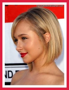 Hayden - how a round face should wear a bob