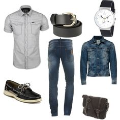 """""""nATURAL MAN"""" by claudiaeli on Polyvore"""