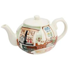 Old Tupton Ware Country Kitchen Teapot