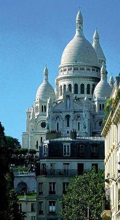 La Basilique du Sacré Cœur de Montmartre, Paris