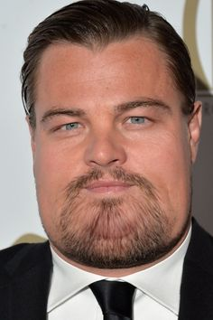 Leonardo DiCaprio and Jennifer Lawrence. | What Celebrities Would Look Like If They Were Fat