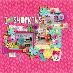 I+Heart+Shopkins - Scrapbook.com