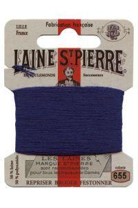 Carte Laine Saint-Pierre pour broder / repriser n°655 Royal