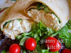 Chicken Salad Wraps ~ can you say YUMMIE!!!