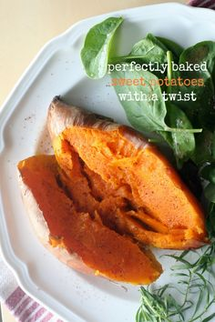 Perfectly Baked Sweet Potatoes with a Twist #vegetarian #vegan #fresh