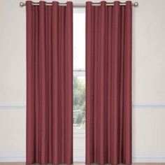 Look at River Blue - Eclipse® Handel Stripe Grommet-Top Blackout Curtain Panel with Thermalayer   found at @JCPenney