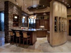 15 Marvelous Stone Kitchen Designs That Will Impress You - Top Inspirations