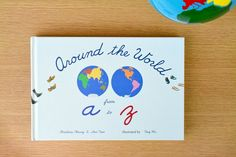Around the World from a to z - Brilliant Book!