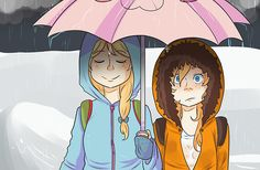 Femme Butters and Femme Kenny. So cuuuuute~
