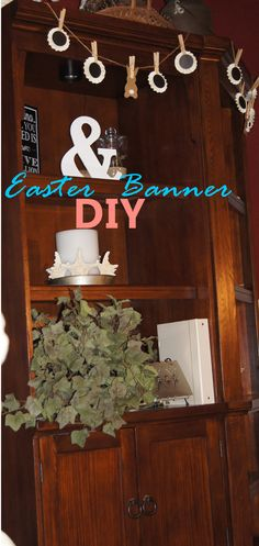 2 diycraft projects with pussy greatbeautiful decorating ideas easter or spring diy bunny banner perfect for accenting shelves spring refresh in your solutioingenieria Images