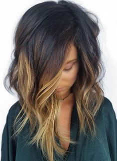 87 unique ombre hair color ideas to rock in 2018 - Hairstyles Trends Truss Hair, Hair Color And Cut, Hair Color Black, Faded Hair Color, Summer Hair Color For Brunettes, Hair Color Ideas For Brunettes Balayage, Great Hair, Hair Today, Hair Dos