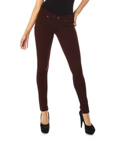 Look what I found on #zulily! Puce Jeggings by High Street #zulilyfinds