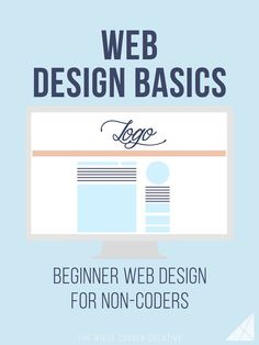Web Design Basics - The White Corner Creative Web Design Basics is a series dedicated to helping beginners get a basic understanding of code so they can make changes to their site design. Web Design Trends, Design Websites, Web Design Basics, Web Design Quotes, Website Design Services, Web Design Tutorials, Web Design For Beginners, Coding For Beginners, Blog Designs