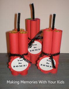 You Da Bomb Candy Valentine