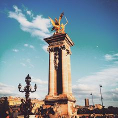 Chris Swall — Alexandre III #paris #instagood #chrisswallinparis...