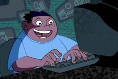 "Wade was the prime example that sitting in front of your computer all day is actually the most powerful position to be in. | 29 Reasons ""Kim Possible"" Was The Best Disney Channel Show Of The '00s"